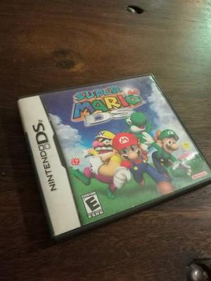 Juego Nintendo Ds Super Mario 64