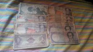 Lote De Billetes De  Y 500 Bs