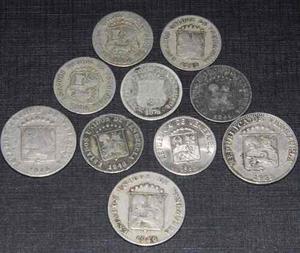 Lote De Monedas Puyas Y Lochas De Venezuela
