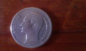 Moneda 5 Bolivares De Plata
