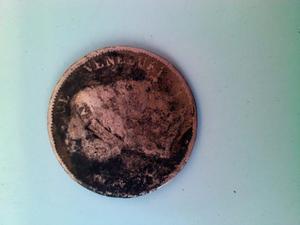 Moneda De Cobre De 1 Centavo De Venezuela De