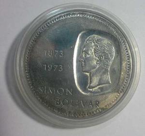 Moneda De Plata De Bs.10