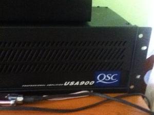 Power Amplificador Qsc Usa v