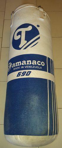 Saco De Boxeo Tamanaco 690 Con Sus Cadenas Como Nuevo