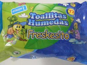 Toallitas Humedas Con Vitamina E, Paquete De 72