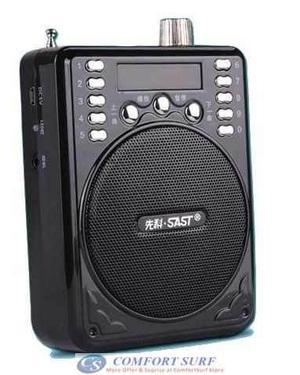Radio Recargable Reproductor Mp3 Usb Micro Sd Marca: Sast