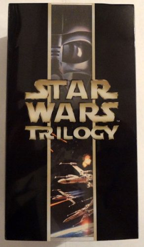 Trilogía Original Star Wars (ep 4, 5 Y 6) Para Vsh