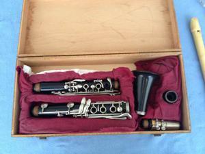 Clarinete Marca Vito De Reso - Tone U. S A. Con Boquilla B45