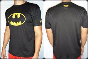 Franela Deportiva Para Gym De Batman Logo Clasico Talla S