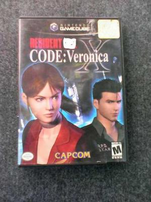 Juego Nintendo Gamecube Resident Evil Code Veronica Y Zero