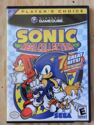 Juego Original Para Nintendo Gamecube Sonic Megacollection