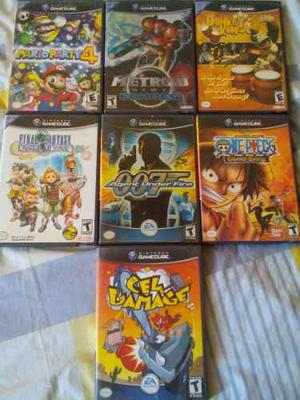 Mario Party 4 Y Otros Juegos De Gamecube Usados