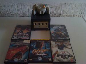 Nintendo Gamecube + Control Inalambrico +5 Juegos Originales