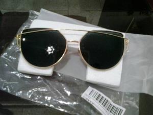 Nueva Moda Gafas De Sol Marco De Metal Uv 400