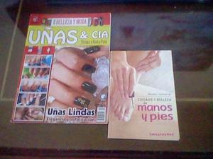 Revista Y Libro De Cuidado De Uñas..