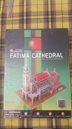 Rompecabezas 3d Torre De Belem Y Catedral De Fatima