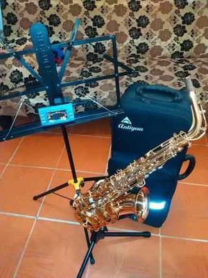 Saxofon Alto Marca Antigua