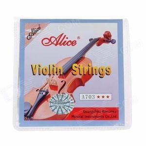 Juego De Cuerdas Para Violin  Marca Alice A703