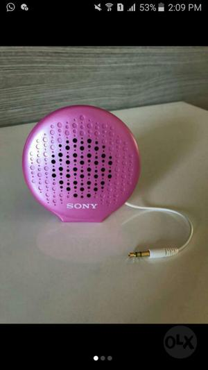 Mini Corneta Portatil Sony
