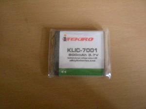 Pila Bateria Marca Itekiro Kodak Klic- Volt 800 Mah