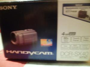 Video Camara Digital Sony Handycam Dcr Sx40 De Gb