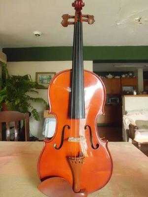 Viola 4/4 Marca Supreme String Rumanian Workshop Con Estuche