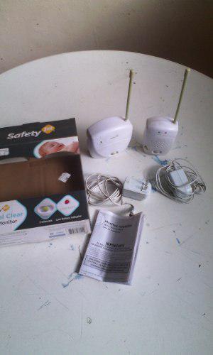Audio Monitor Para Bebes Marca Safety