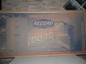 Calentador De Agua Eléctrico 35 Litros Marca Record. Nuevo!