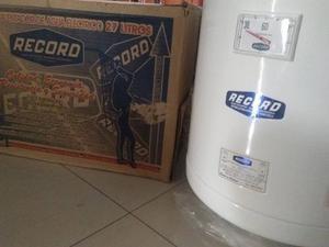 Calentador De Agua Marca Record De 27 Litros Nuevo !!!