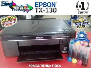 Impresora Multifuncional Epson Tx-130 Con Sistema De Tinta