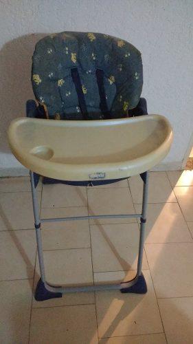Mesa Y Silla Para Comer De Bebé Usada En Buen Estado Chicco