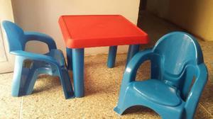 Mesa Y Sillas Para Niños