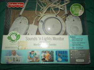 Monitor Para Bebes Luces Y Sonido 2 Receptores Fisher Price