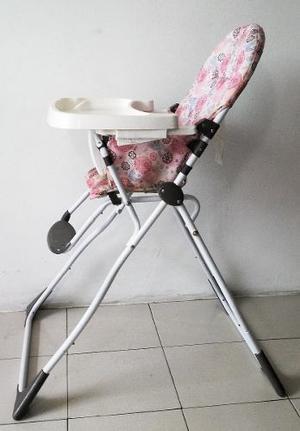 Silla De Comer Para Bebes Niña Cosco Plegable