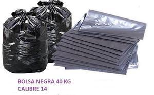 Bolsa Negra 40 Kg Calibre 14 Extra Fuerte