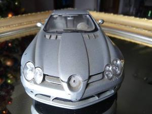 Carro De Coleccion Mercedes Slr Mclaren Escala 1/18