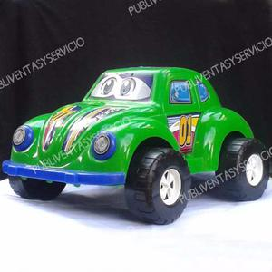 Carro Escarabajo Volkswagen Grande Para Niños Juguete