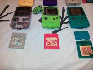 Coleccion De Consolas Game Boy Color.
