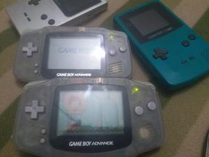 Game Boy Advance Coleccion + Mario World Y Pilas Recargables