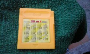 Juego De Game Boy 58 In 1