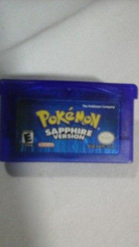 Juego De Game Boy Advance Pokemon Sapphire Original