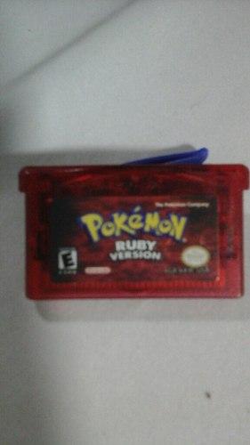 Juego De Game Boy Advance Ruby Version, Original.