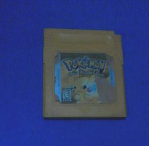 Juego De Nintendo Game Boy Pokemon Special Pikachu Edition