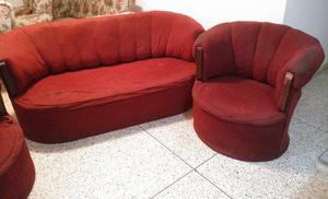 Juego De Sala: Mueble- Sofa