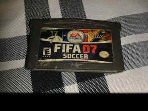 Juego Game Boy Advance Fifa 07