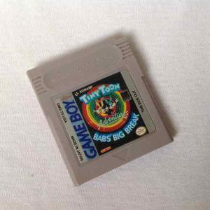 Juego Nintendo Game Boy - Tiny Toons