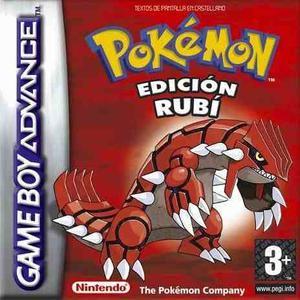 Juego Pokemon Rubi Original Para Gba