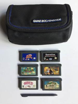 Juegos Game Boy Advance Supermario Birby Varios Mas Bolso