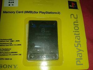 Memoria De Playstation 2 Sony 8mb. Al Mayor Y Detal.