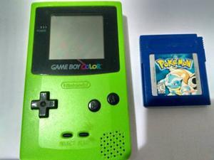 Nintendo Game Boy Color Modelo Cgb-001 Con Juego Pokemon